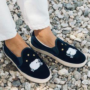 Soludos Velvet Sheep Slip On Slippers 10 M
